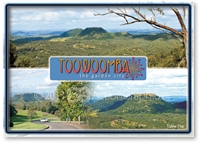 Toowoomba The Garden City - Standard Postcard  TBA-010