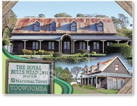 The Royal Bulls Head Inn, Drayton - Standard Postcard  TBA-013
