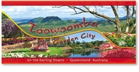 Toowoomba The Garden City on the Darling Downs - Panoramic Postcard  TBA-016-PP