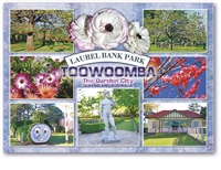 Laurel Bank Park Toowoomba - Standard Postcard TBA-019