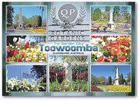 Queens Park and Botanic Gardens Toowoomba - Standard Postcard TBA-020