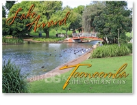 Lake Annand - Standard Postcard  TBA-296