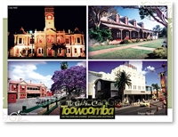 Toowoomba The Garden City - Standard Postcard  TBA-380