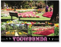 Toowoomba The Garden City - Standard Postcard  TBA-465