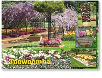 Toowoomba The Garden City - Standard Postcard  TBA-466