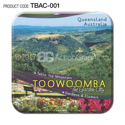 Toowoomba - Set of 2 coasters