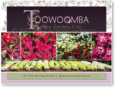 Toowoomba The Garden City - DISCOUNTED View Folder  TBAF-015