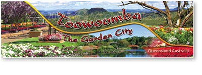 Toowoomba The Garden City Queensland - Long Magnets  TBALM-004