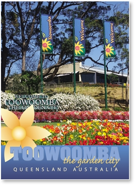 Toowoomba The Garden City - Small Magnets  TBAM-223