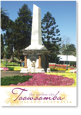 Toowoomba The Garden City - Small Magnets  TBAM-225