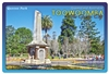 Queens Park Toowoomba - Rectangular Sticker TBAS-004