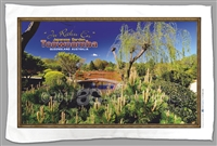 """Ju Raku En"" Japanese Garden - Sublimated Tea Towels TBATT-001"