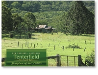Tenterfield Birthplace of out Nation - Standard Postcard  TEN-478