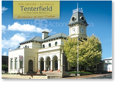 Tenterfield Birthplace of out Nation - Standard Postcard  TEN-485