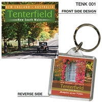 Tenterfield New South Wales - 40mm x 40mm Keyring  TENK-001