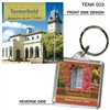 Tenterfield Post Office - 40mm x 40mm Keyring  TENK-003