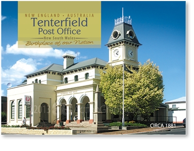 Tenterfield Post Office - Small Magnets  TENM-062