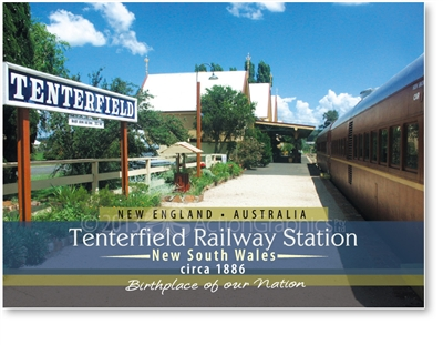 Tenterfield Birthplace of out Nation - Small Magnets  TENM-065