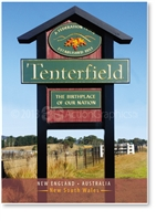 Tenterfield The Birthplace of out Nation - Small Magnets  TENM-068