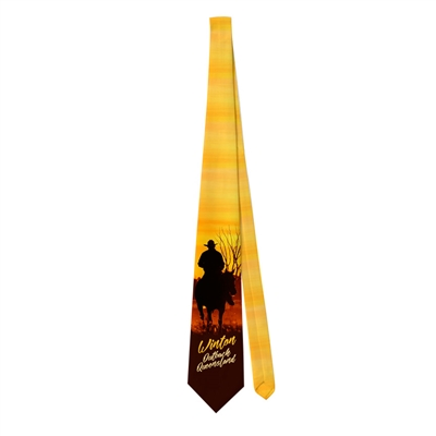 Droving at Sunset - Sublimated Ties