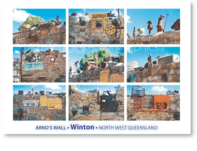 Winton, Arno's Wall - Standard Postcard  WIN-148