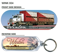 Winton Outback Queensland - 66mm x 23mm Oblong  WINK-004
