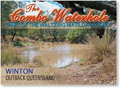 Winton Combo Waterhole - Small Magnets  WINM-002