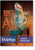 Winton Big Al Dinosaur - Small Magnets  WINM-003