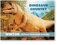 Winton, Dinosaur Country - Small Magnets  WINM-061