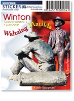 Winton Statues - Rectangular Sticker  WINS-014