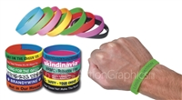 WRIST SILICONE BANDS