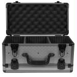 SportLock AlumaLock Double Sided Handgun Case Gray