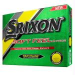Srixon Soft Feel Golf Ball-Tour Yellow-Dozen