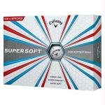 Callaway 2017 Supersoft Golf Balls (One Dozen)-White