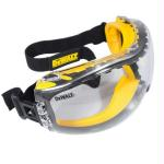 DeWalt Concealer Anti-Fog Dual Mold Safety Goggle - Clear