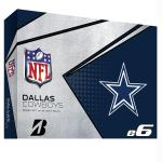 Bridgestone E6 Dallas Cowboys Golf Balls-Dozen
