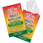 BugBand Insect Repellent Towelette Foil Two-Pak (Case of 50)
