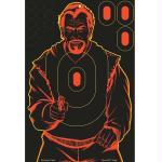 Birchwood Casey Shoot-NC Bad Guy 12x18 Silhouette Target 5pk