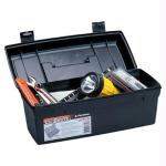 Flambeau Hardware 14in Brute Tool Box With Lift-Out Tray-Blk
