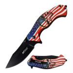 MTech USA Spring Assisted Knife 3.25in Blade 8in Overall