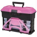 Flambeau T3 Frost Series Mini Front Loader Tackle Box Pink