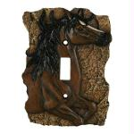 Rivers Edge New Horse Single Switch Plate Cover