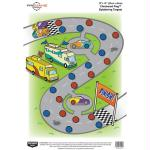 Birchwood Casey PREGAME Checkered Flag 12x18 Target 8PK