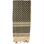 Red Rock Shemagh Head Wrap - Khaki/Black