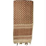 Red Rock Shemagh Head Wrap - Tan/Brown
