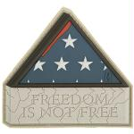 Maxpedition Morale Patch Freedom Is Not Free 3.0 x 2.8 in