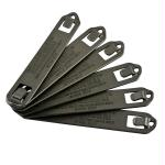 Blackhawk 6 Pack Speed Clips 5 Inch Black