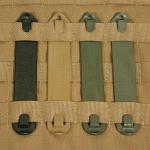 Blackhawk 6 Pack Speed Clips 3 Inch Coyote Tan