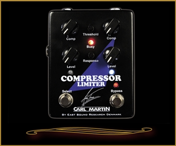 Carl Martin Andy Timmons Signature Compressor Limiter Pedal