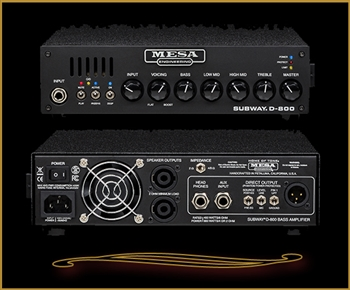 Mesa Boogie Subway D-800 Compact Bass Head